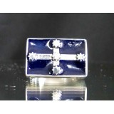 eureka flag of australia one finger sterling silver ring